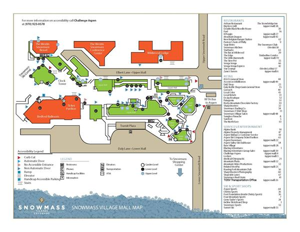 Accessibility Map - Mall